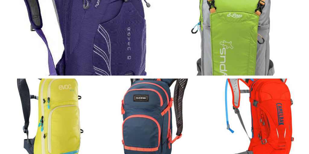 the best women's mountain biking hydration packs