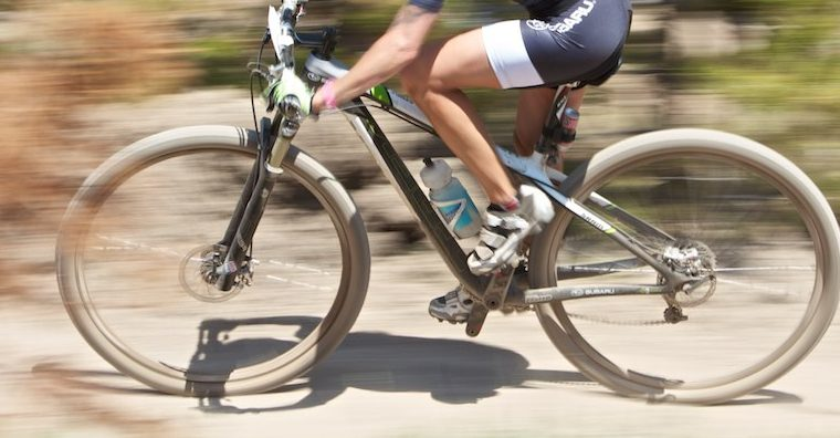Femme Cyclist