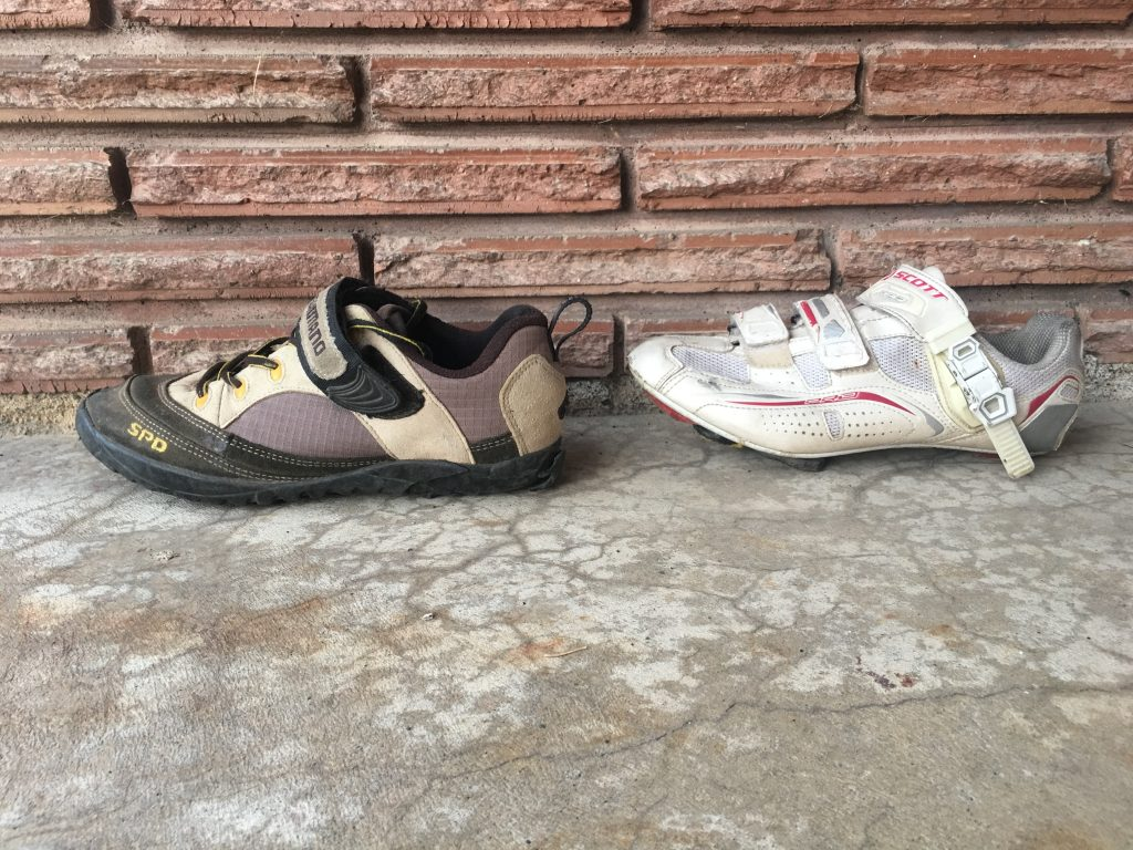 Mountain Bike Shoe vs Road Cycling Shoe