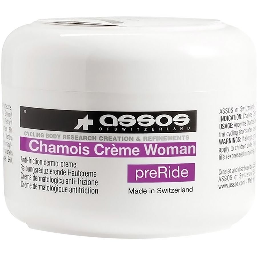 assos women's chamois cream