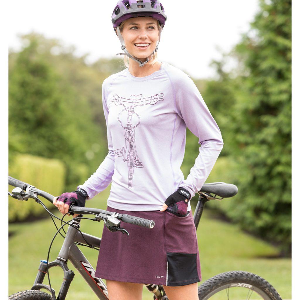 terry fixie bike skort
