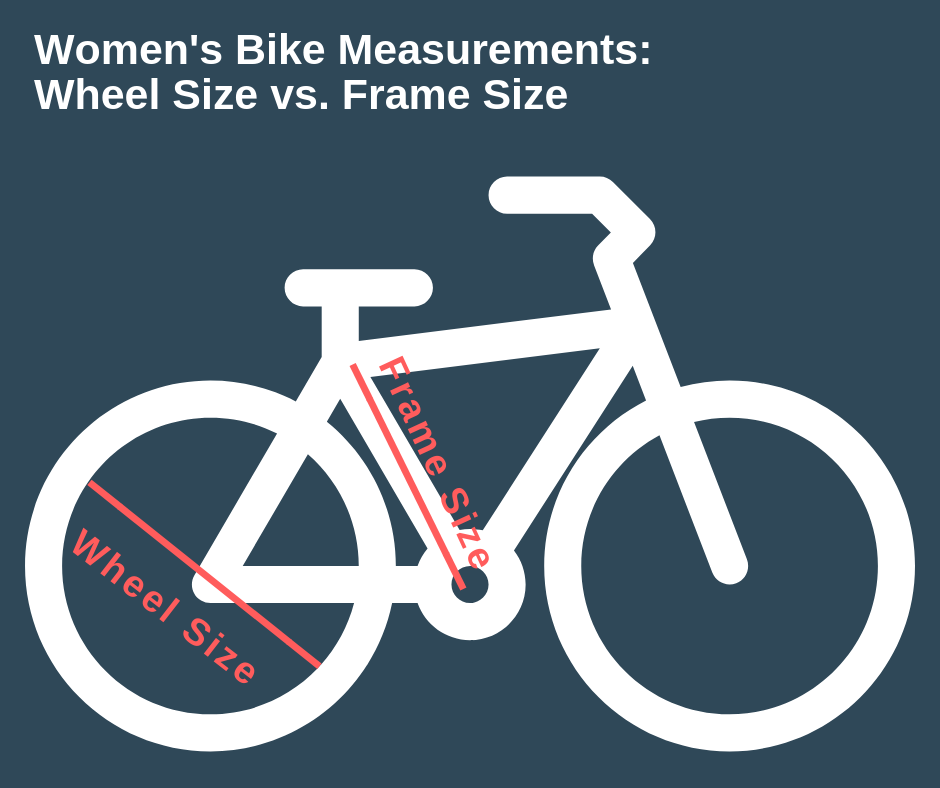 women's bike size measurements
