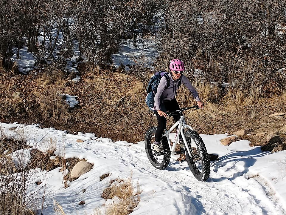 framed minnesota 1.0 fat bike in action