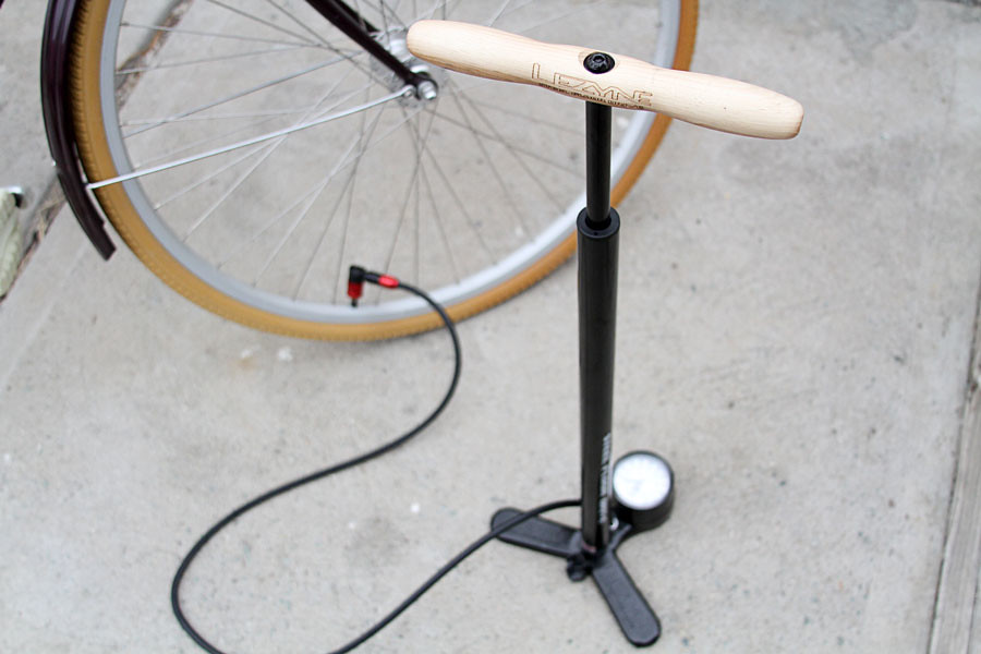 How to Use a Bike Pump to Pump up a Bike Tire