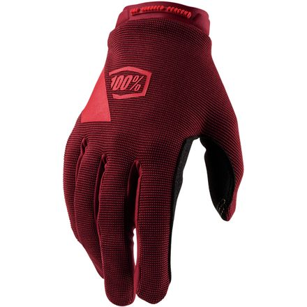 100% ridecamp womens mountain bike gloves