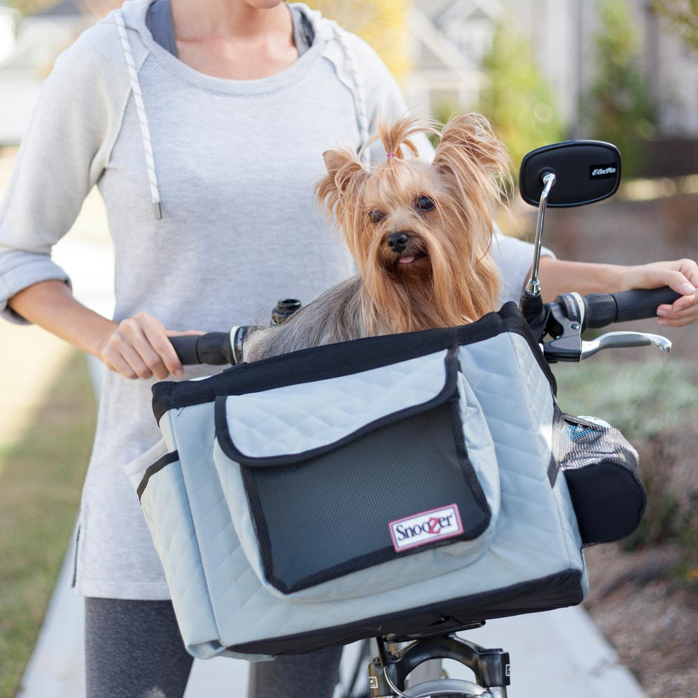 snoozer dog basket for bike