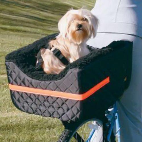 snoozer pet rider dog bike basket