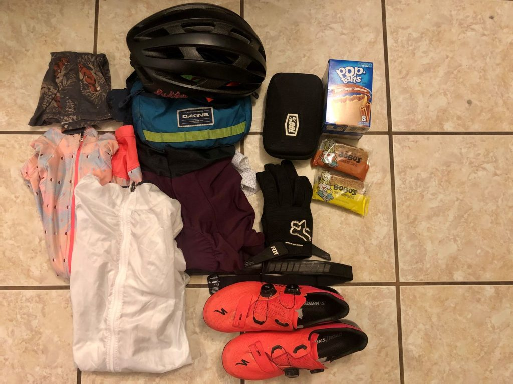 what to pack for a century ride