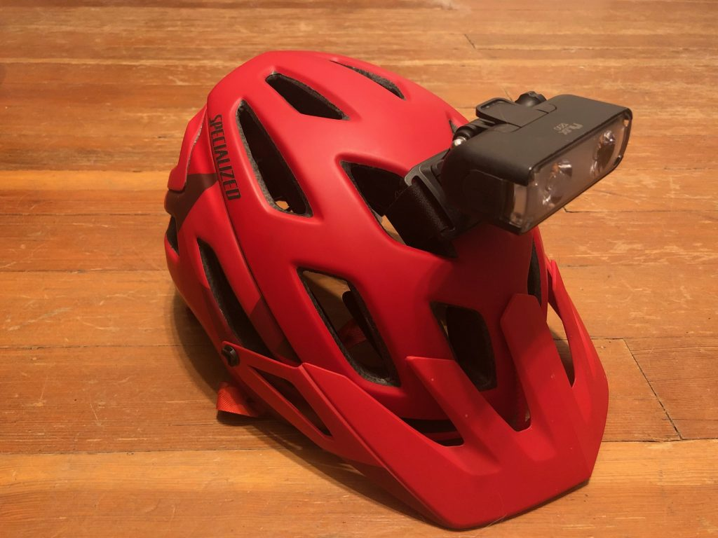 Specialized Flux Helmet on Specialized Ambush