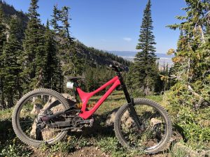 Demo at Targhee Bike Park