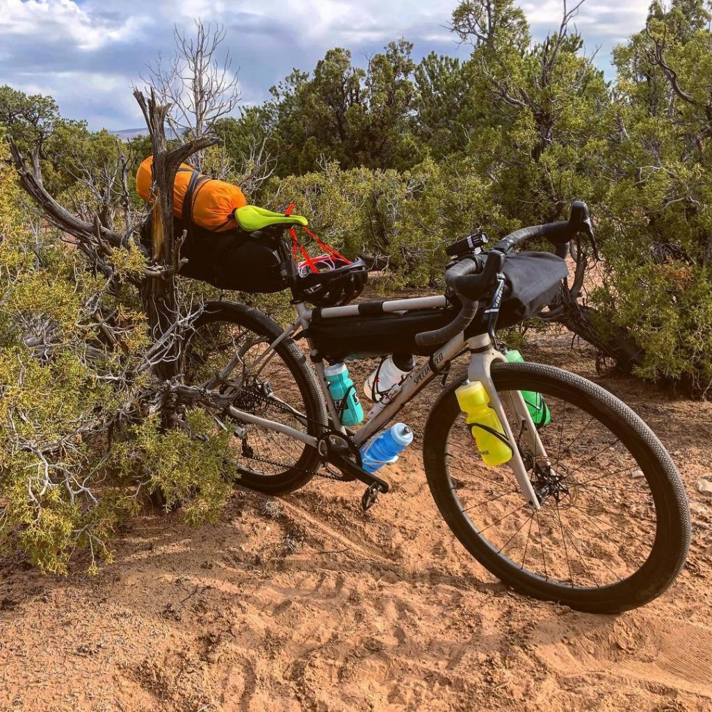 Bikepacking at the San Rafael Swell.