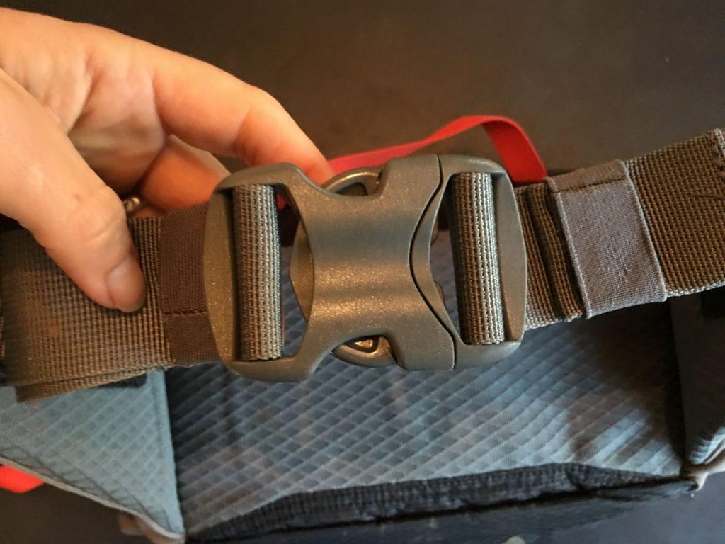 flex lumbar buckle