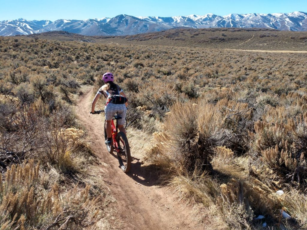 using the sierra designs flex lumbar for mountain biking