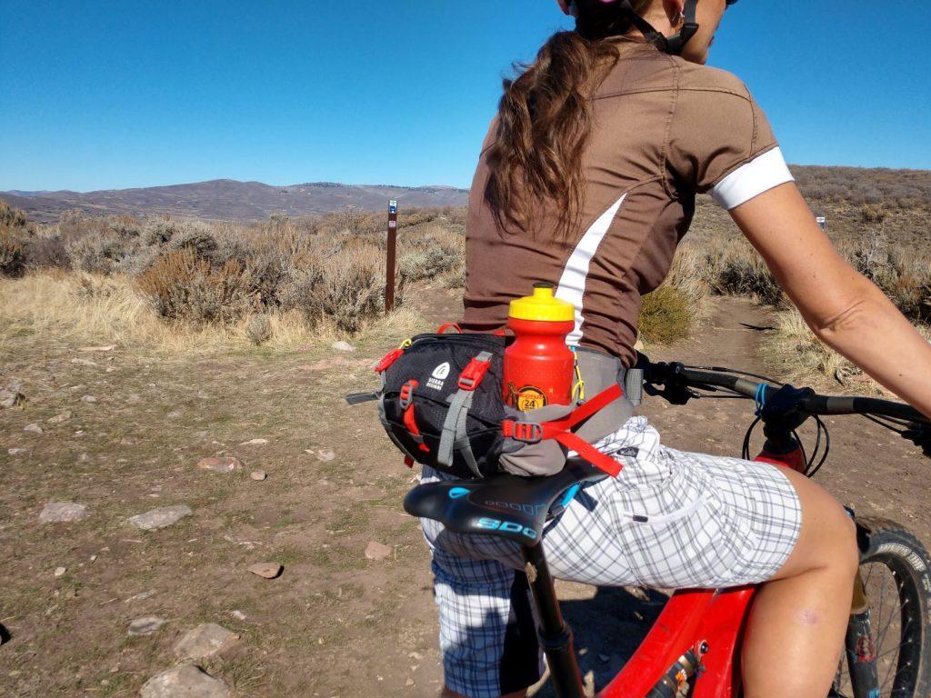 water bottle holder on the sierra designs flex lumbar