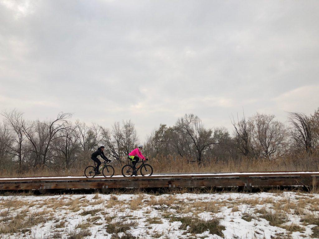 Winter riding in SLC