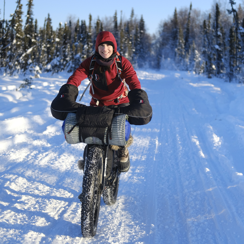 pogies for fat biking