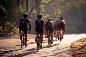 don't wear underwear with bike shorts