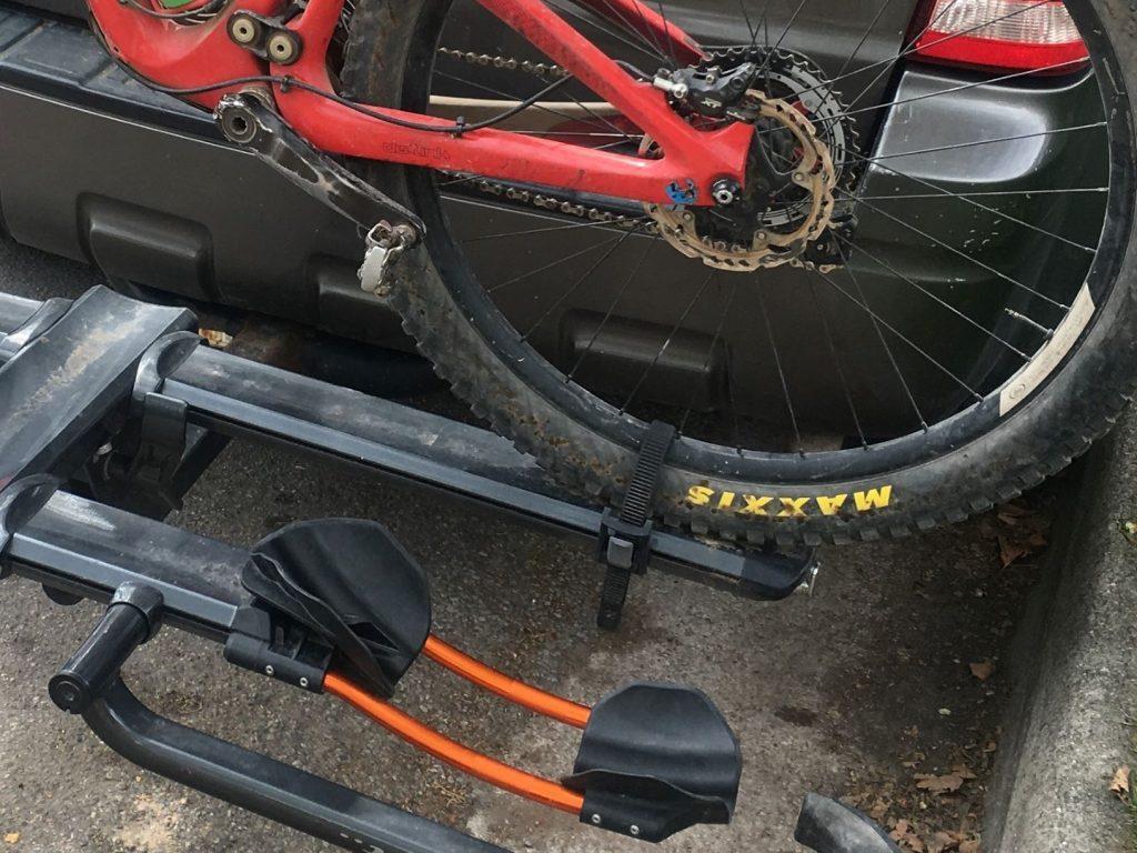 rear tire strap