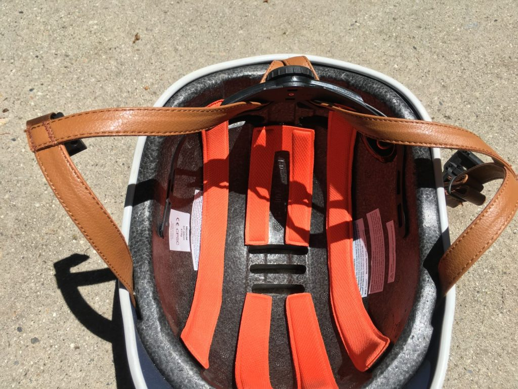 helmet interior