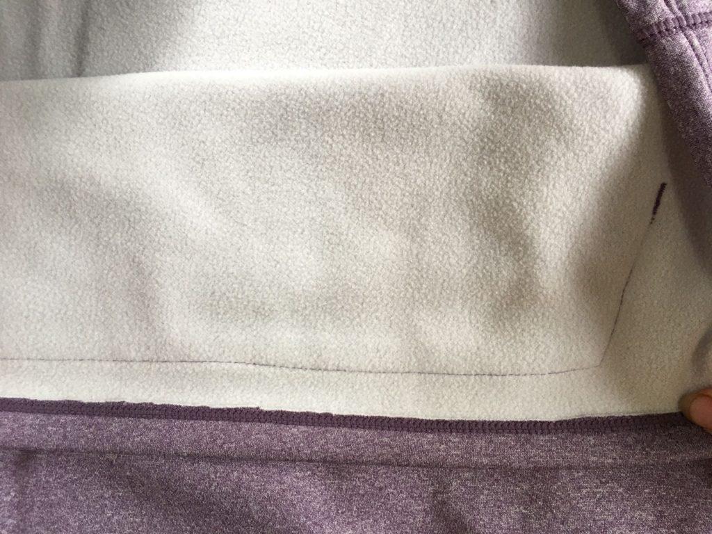 club ride longsleeve fabric
