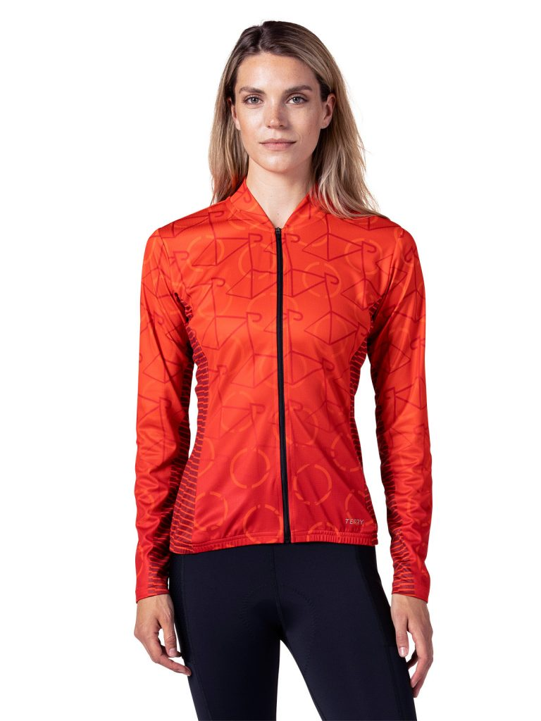 terry strada womens cycling jersey