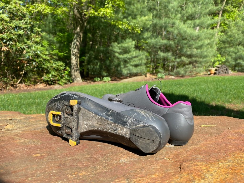 road shoes with clips