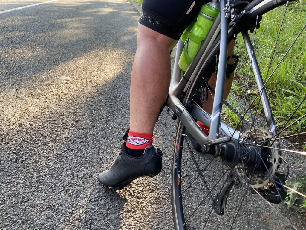 Cycling Sock with Leg